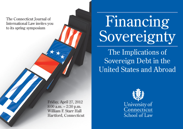 CJIL Sovereign Debt Symposium Invitation